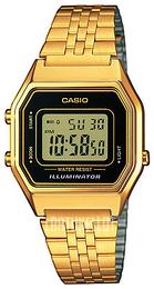 Casio Casio Collection LCD Kullansävytetty teräs 33.5x28.6 mm LA680WEGA-1ER 97a2179b96