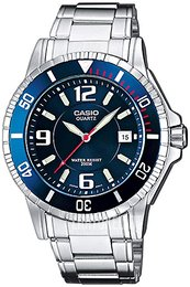 Casio Casio Collection Sininen/Teräs Ø42.6 mm MTD-1053D-2AVES
