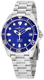 Certina DS Action Sininen/Teräs Ø41 mm C032.410.11.041.00