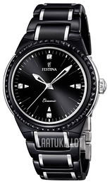 Festina Dress Musta/Teräs Ø38 mm F16698-4