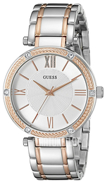 Guess Dress Hopea/Punakultasävyinen Ø36 mm U0636L1