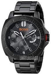 Hugo Boss Sao Paulo Musta Teräs Ø46 mm 1513252 e303234db4