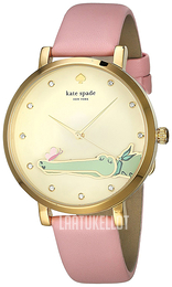 Kate Spade Holland Beige/Nahka Ø38 mm KSW1415