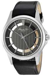 Kenneth Cole Transparency Musta/Nahka Ø42 mm 10022286