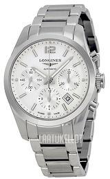Longines Conquest Hopea/Teräs Ø41 mm L2.786.4.76.6