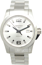 Longines Conquest Hopea/Teräs Ø41 mm L3.759.4.76.6