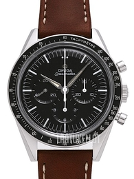 Omega Speedmaster Moonwatch Numbered Edition 39.7mm Musta/Nahka Ø39.7 mm 311.32.40.30.01.001