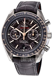 Omega Speedmaster Moonwatch Harmaa/Nahka Ø44.25 mm 311.63.44.51.99.002