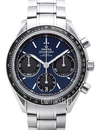 Omega Speedmaster Racing Co-Axial Chronograph 40mm Sininen/Teräs Ø40 mm 326.30.40.50.03.001