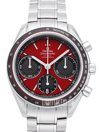 Omega Speedmaster Racing Co-Axial Chronograph 40mm Punainen/Teräs Ø40 mm 326.30.40.50.11.001