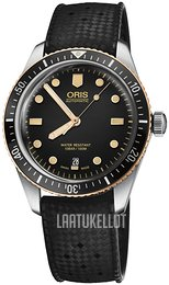Oris Diving Musta/Kumi Ø40 mm 01 733 7707 4354-07 4 20 18
