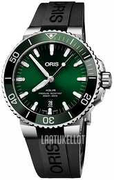 Oris Diving Vihreä/Kumi Ø43.5 mm 01 733 7730 4157-07 4 24 64EB