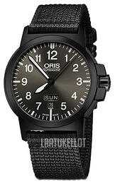 Oris Aviation Musta/Tekstiili Ø42 mm 01 735 7641 4733-07 5 22 24B