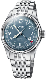 Oris Aviation Sininen/Teräs Ø40 mm 01 754 7741 4065-07 8 20 22