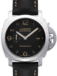 Panerai Contemporary Luminor Marina 1950 3 Days Automatic Musta/Nahka Ø44 mm PAM 359