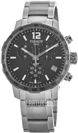 Tissot Classic Dream Musta/Teräs Ø42 mm T095.417.11.067.00