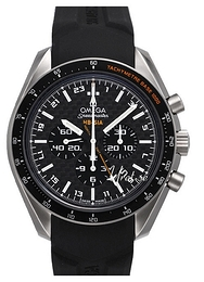 Omega Speedmaster Hb-Sia Co-Axial GMT Chronograph Musta/Titaani Ø44.25 mm 321.92.44.52.01.001