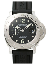 Panerai Contemporary Luminor Submersible Musta/Kumi Ø44 mm PAM 024