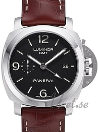 Panerai Contemporary Luminor 1950 3 Days GMT Automatic Musta/Nahka Ø44 mm PAM 320