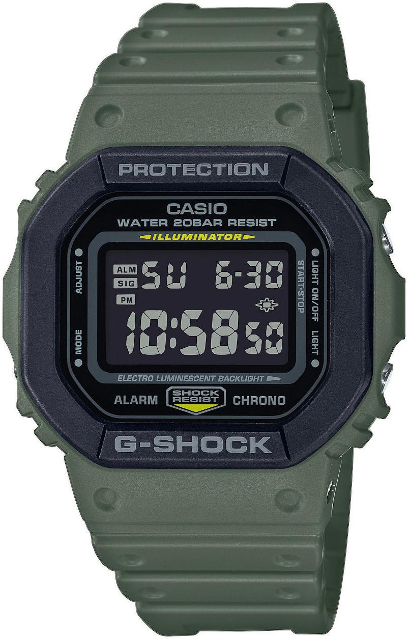 Casio G-Shock Miesten kello DW-5610SU-3ER LCD/Muovi