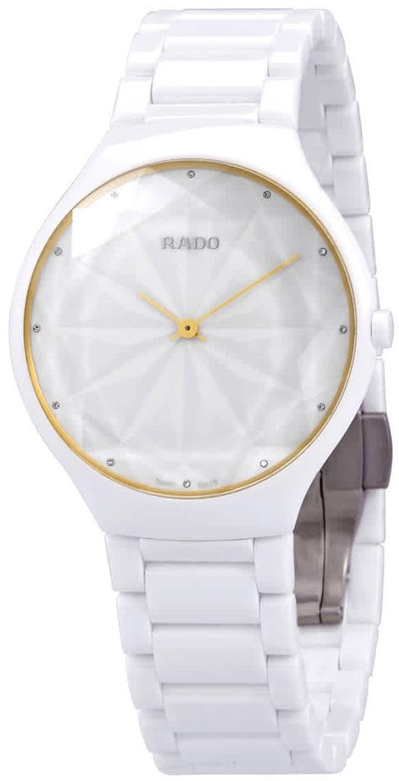 Rado True R27007702 Valkoinen/Keraaminen Ø39 mm