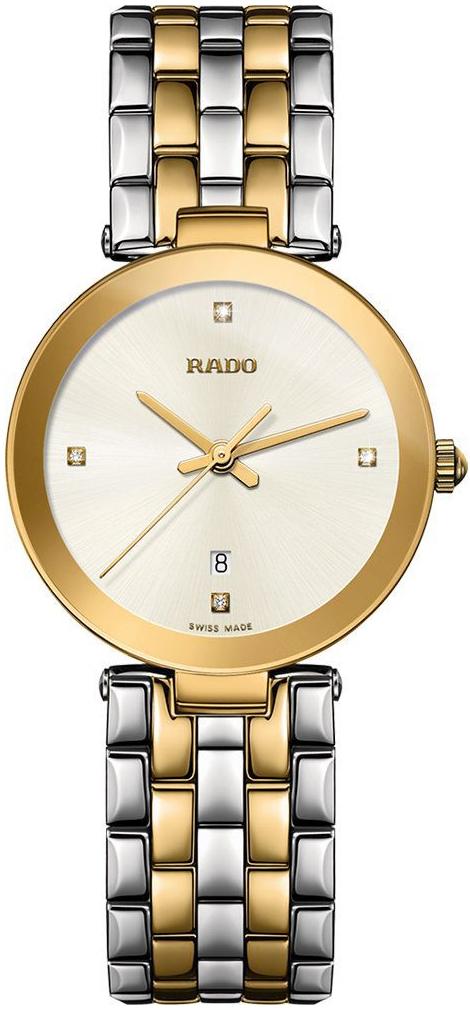 Rado Florence Naisten kello R48872723 Hopea/Kullansävytetty teräs