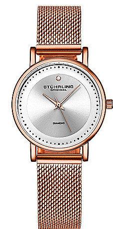 Stührling Original 99999 Naisten kello 4005.4 Hopea/Teräs Ø29 mm